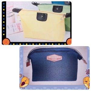Handbags - 2 Brand New Cosmetic Bag 💼
